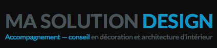 Logo architecte interieur lyon ma-solution-design.com