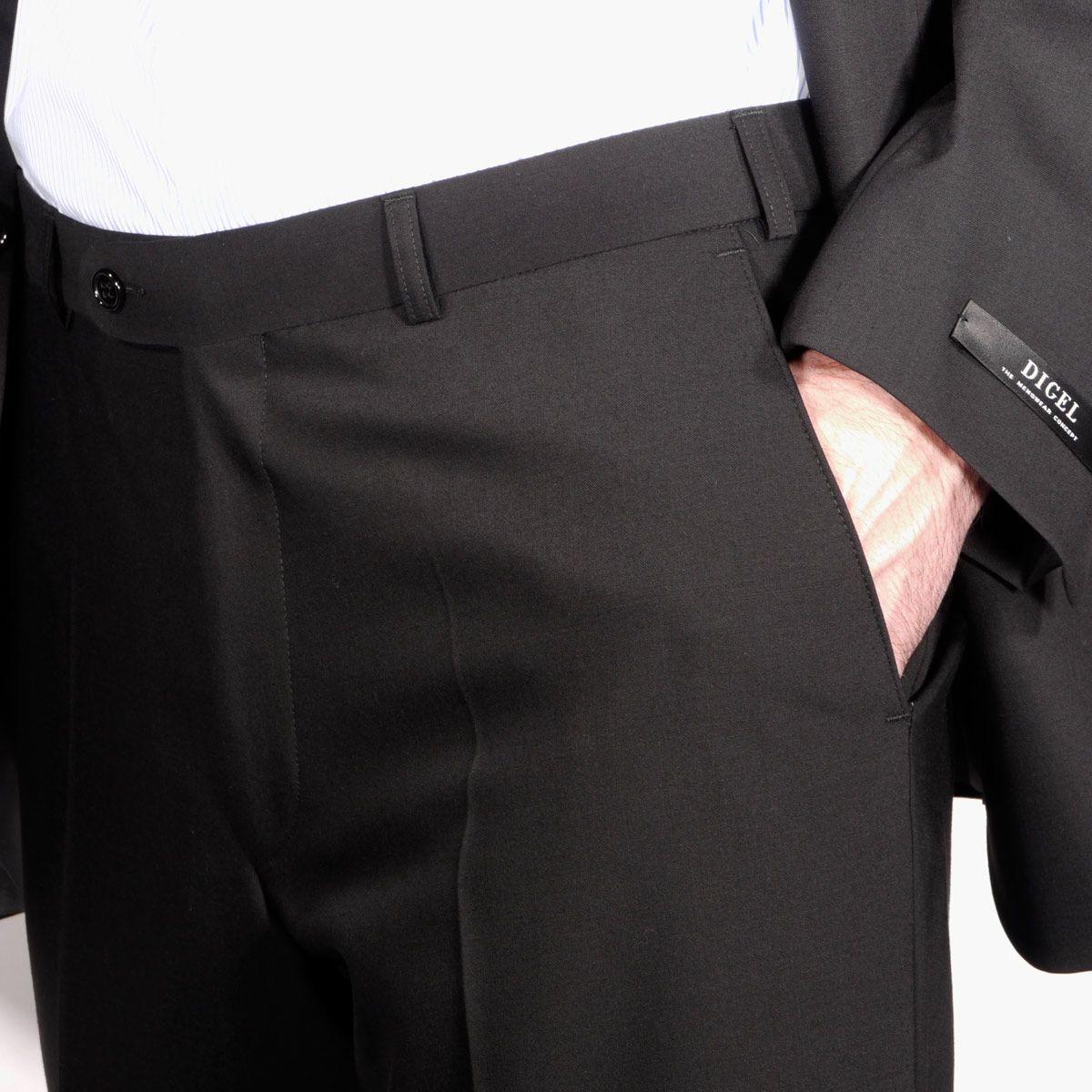 Pantalon noir homme