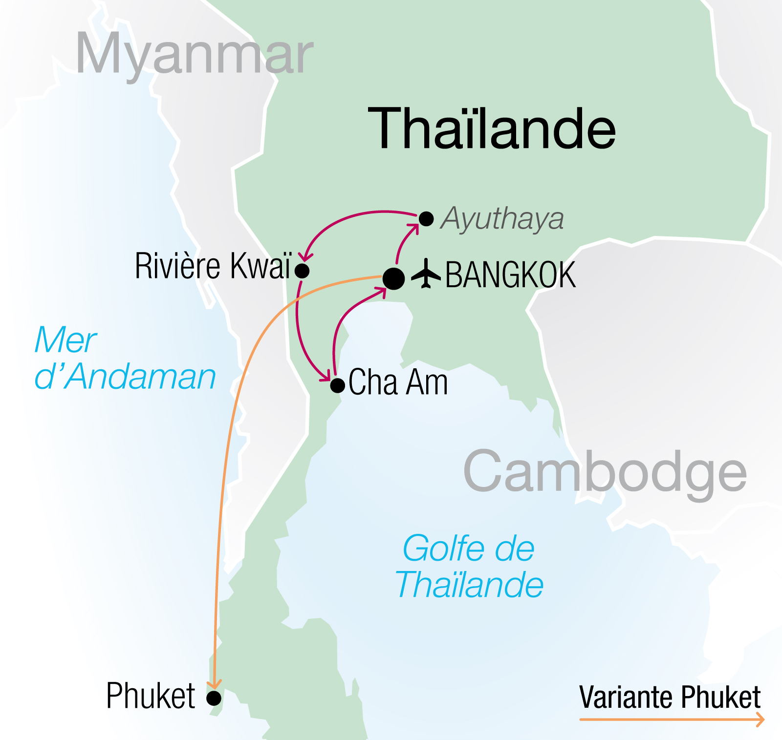 Bien organiser des circuits thailande en famille