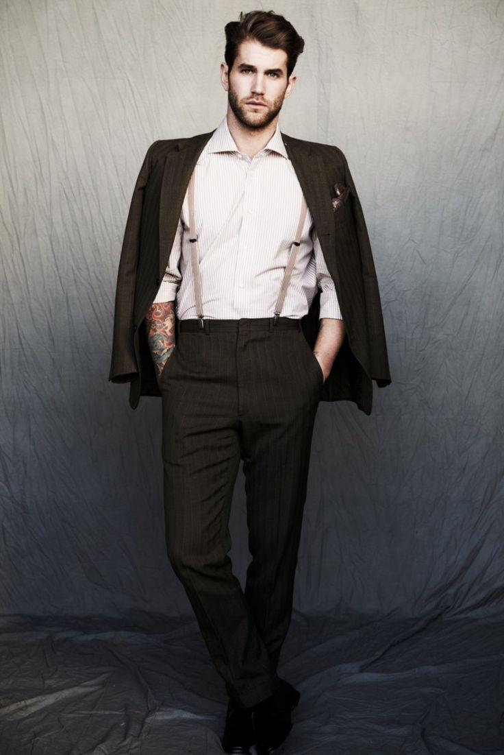 Bretelle homme beige: la mode autrement