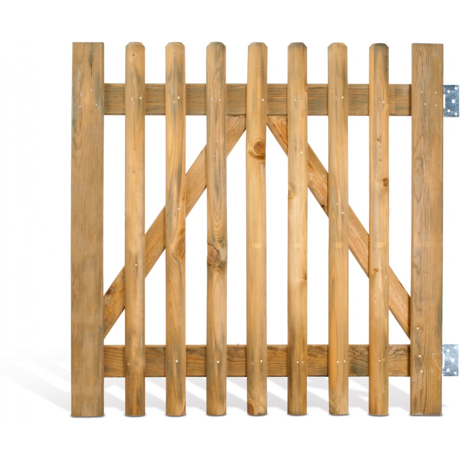 Comment faire un portillon en bois for Portillon en bois de jardin