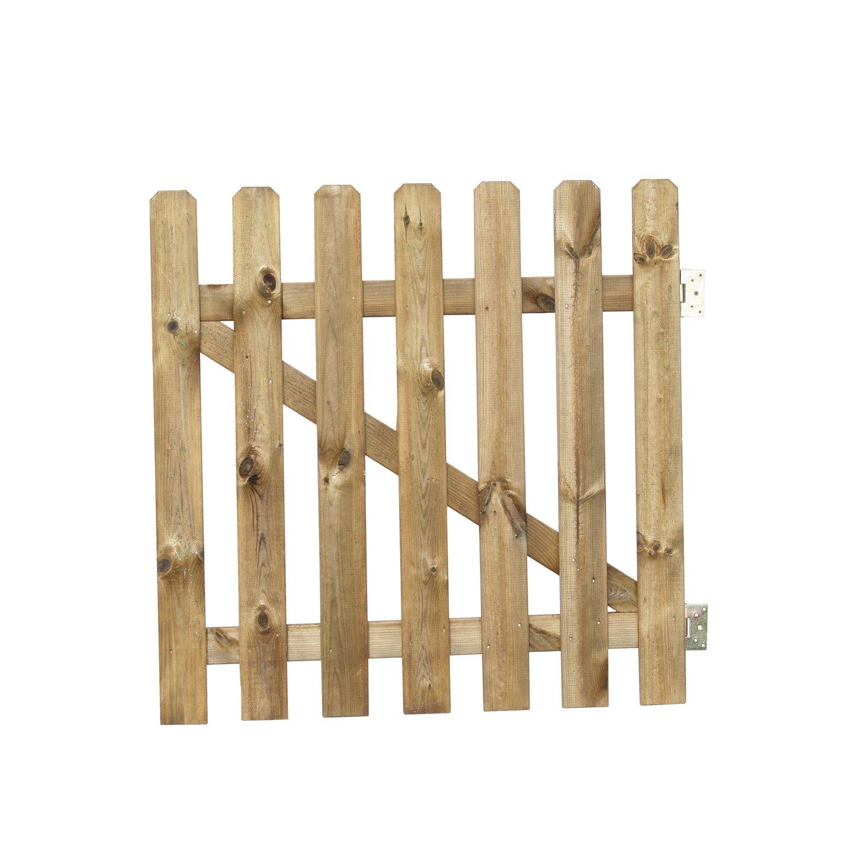 Comment faire un portillon en bois - Portillon de jardin leroy merlin ...
