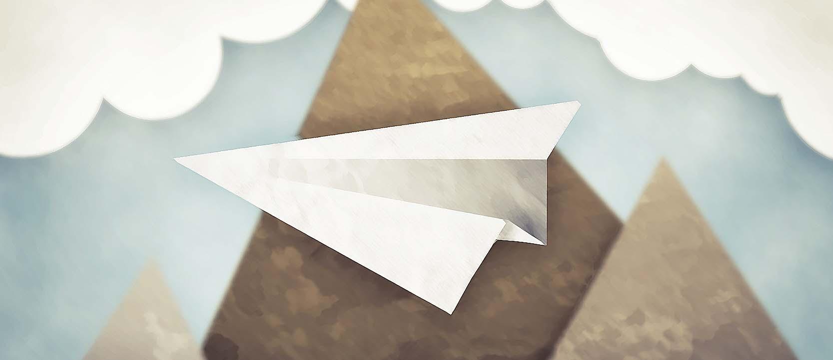 Comment Faire Un Avion En Papier De Pro